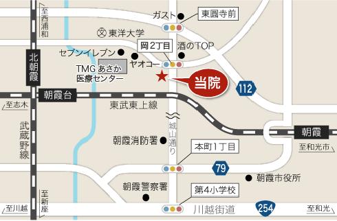 城山通りどうぶつ病院の地図